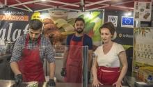 Πρόσφυγες του Προγράμματος ESTIA στο Trikala Street Food Festival 2019
